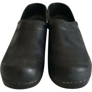 DANSKO CLASSIC CLOGS-Black-Size US 6.5